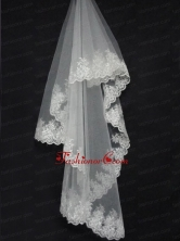 Lace Decorate The Bridal Veil On Sale ACCWEIL01FOR