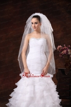 Royal Discount 2 Layers Tulle Bridal Veils RR51928FOR
