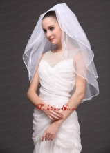 Three Tier Tulle Bridal Veil On Sale RR091415FOR