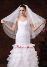 Three Tier Tulle Fingertip Wedding Veil HM8637FOR