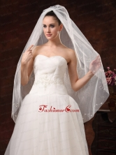 Tulle Discout Bridal Veil For Wedding HM8819FOR