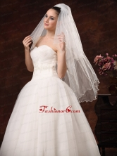 Two Tier Tulle Graceful Wedding Veil BX60-110FOR