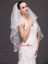 Two Tier Tulle Graceful Wedding Veil HM2017FOR