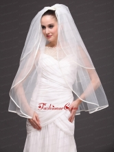 Two Tier Tulle Graceful Wedding Veil HM2022FOR