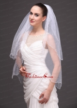 Two Tier Tulle Graceful Wedding Veil RR091412FOR