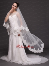 Two Tier Tulle With Lace For Wedding HM8820FOR
