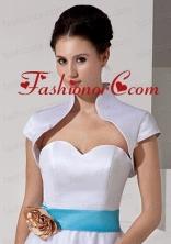 2014 Elegant Ivory Short Sleeves Jacket ACCJA021FOR