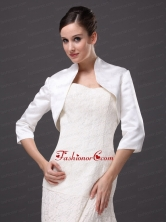 Classical High-neck Satin Jacket For Wedding and Other Occasion AFEWST228FOR