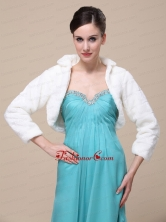 Elegant Special Occasion Wedding  Bridal Jacket With Long Sleeves RR0915020FOR
