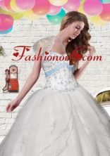 Elegant Tulle White Short Quinceanera Jacket with Beading and Appliques ACCJA092FOR
