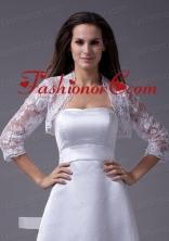 Elegant  White Jacket With Lace ACCJA061FOR