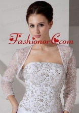 Embroidery  Jacket With Lace ACCJA023FOR