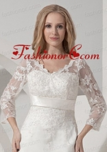 Embroidery  Jacket With Tulle ACCJA032FOR