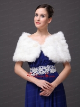 Front Closure and Faux Fur For Wedding  Special Occasion Shawl RR0915027FOR