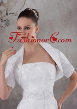 Gorgeous White  Short Sleeves Jacket ACCJA059FOR