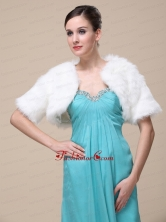 Gorgeous and Short Sleeves For Special Occasion  Wedding Shawl Jacket RR0915023FOR