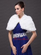 High Neck Perfect Faux Fur Prom Wraps Shawls RR0915041FOR