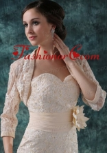 Lace Jacket in Champane ACCJA006FOR