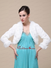 Modest High Quality Instock Special Occasion Wedding  Bridal Jacket RR0915018FOR