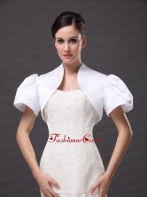 White Satin Jacket For Wedding Party and Other Occasion AFEST223FOR