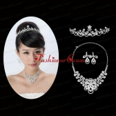 Gorgeous Alloy With Rhinestone Ladies Jewelry Sets ACCJSET159FOR