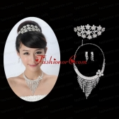 Gorgeous Alloy With Rhinestone Ladies Jewelry Sets ACCJSET162FOR