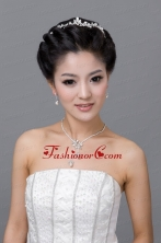 Mysterious Alloy With Rhinestone Ladies Jewelry Sets ACCJSET130FOR