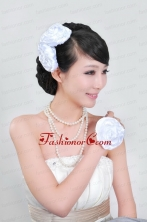 Shimmering Ladies Pearl Necklaceand Headpiece Jewelry Set ACCJSET065FOR