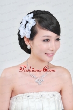 Wedding Jewelry Set Including Necklace And Headpiece ACCJSET062FOR