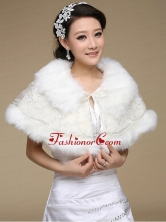 2015 Top Selling Wedding Shawl with Open Front ACCWRP001FOR