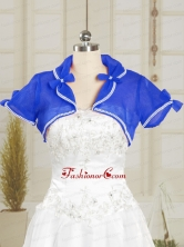 Beading Royal Blue Wedding Party Shawls for 2014 JSA004-13FOR