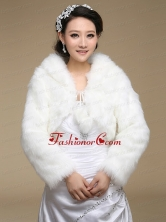 Long Sleeves 2015 Popular Shawls in White ACCWRP015FOR