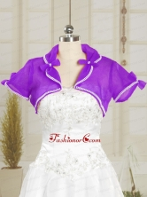 Simple Red Purple Beading Wedding Party Shawls  JSA004-16FOR