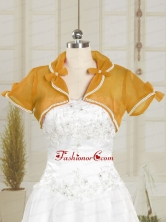 Simple Wedding Party Beading Shawls in Organza JSA004-4FOR