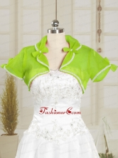 Spring Green Wedding Beading Party Organza Shawls JSA004-6FOR