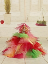 Beautiful Princess Party Clothes Colorful Quinceanera Doll Quinceanera003for