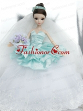 Beutiful Wedding Dress To Noble Quinceanera With Lace And Ruffles Babidf413for