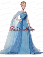 Elegant Colorful Chiffon Party Clothes Made To Fit The Quinceanera Doll Vbabidf006for