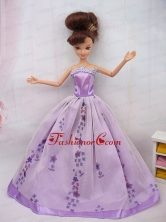 Fashionable Ball Gown Party Clothes Quinceanera Doll Dress Babidf092for