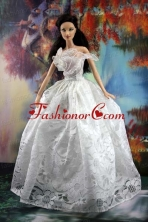 Lace White Off The Shoulder To Wedding Dress For Noble Quinceanera Babidf190for