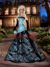 Modest Party Clothes Princess Made To Fit The Quinceanera Doll Babidf001for
