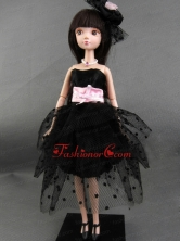 New Beautiful Black Party Dress For Tulle Noble Quinceanera Babidf357for