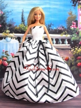 New Beautiful Handmade Party Clothes Fashion Dress For Noble Quinceanera Babidf057for