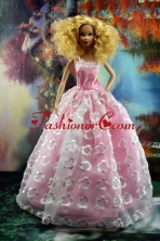 New Embroidery And A-line For Quinceanera Doll Dress Babidf183for