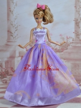 Pretty Handmade Princess Dress For Quinceanera Doll Babidf037for