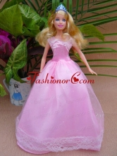 Sweet A-line And Floor-length For Party Quinceanera Doll Dress Babidf046for