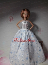 Sweet Lace Hand Made Flowers White Made To Fit The Quinceanera Doll Babidf282for