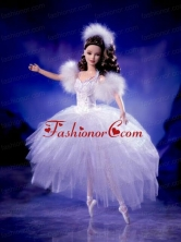 Tulle Beading Ball Gown Quinceanera Doll Dress Babidf019for