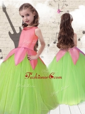 Cheap Scoop Ball Gown Multi Color Flower Girl DressesFGL221FOR