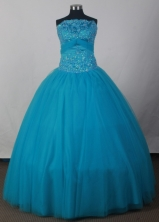 2012 Cheap Ball Gown StraplessFloor-Length Quinceanera Dresses Style JP42680